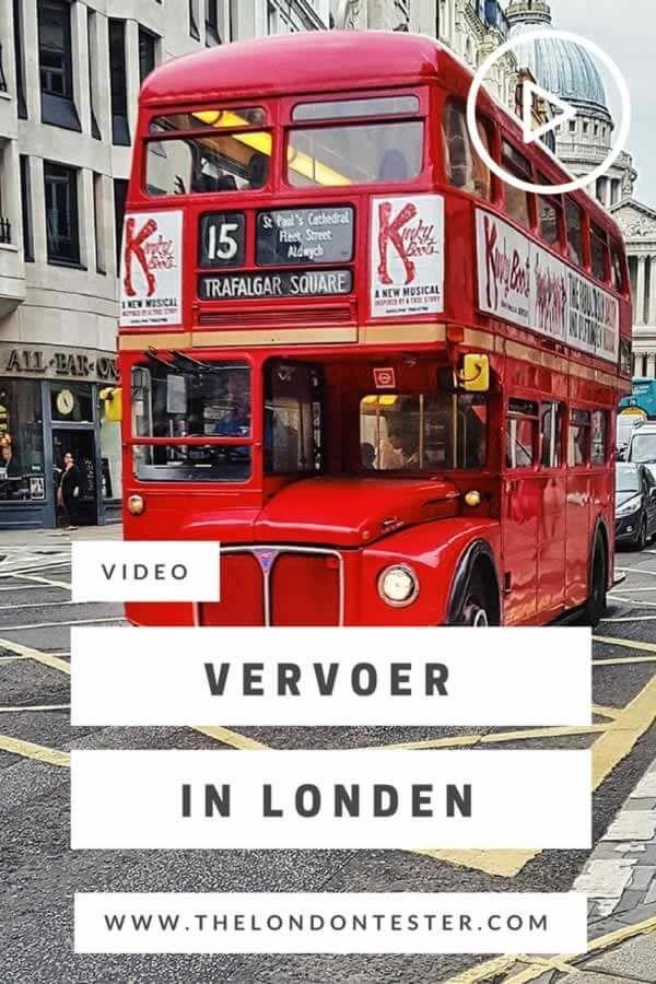 Openbaar Vervoer in Londen: Al je Opties op een Rij [VIDEO] || The London Tester