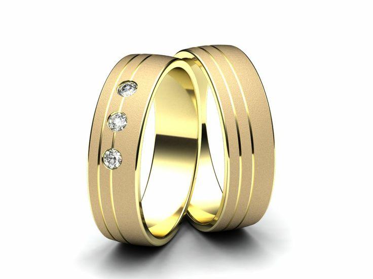 Snubní prsteny E1316  #aiola #wedding #rings