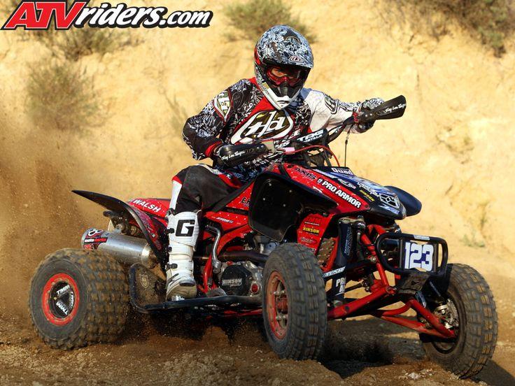 Nick DeNoble - Honda TRX 450R ATV Motocross