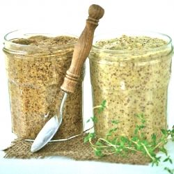 Delicious homemade mustard that couldn't be easier!