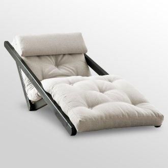 Figo Futon Chaise Lounge With Wenge Frame Fresh