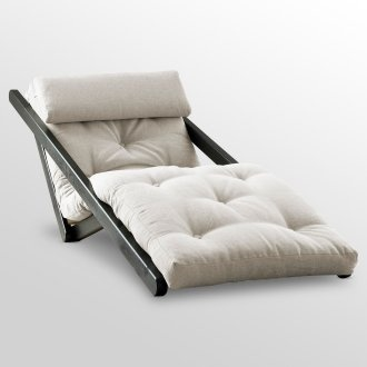 lounge chair that can lay flat for guest bed
