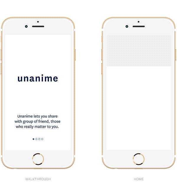 Unanime is a social application wich targets group of persons with solid relationships (best-friends, family...)It is a place where they can take and share shorts videos within their groups. And in order to read the message the group will have to gather …