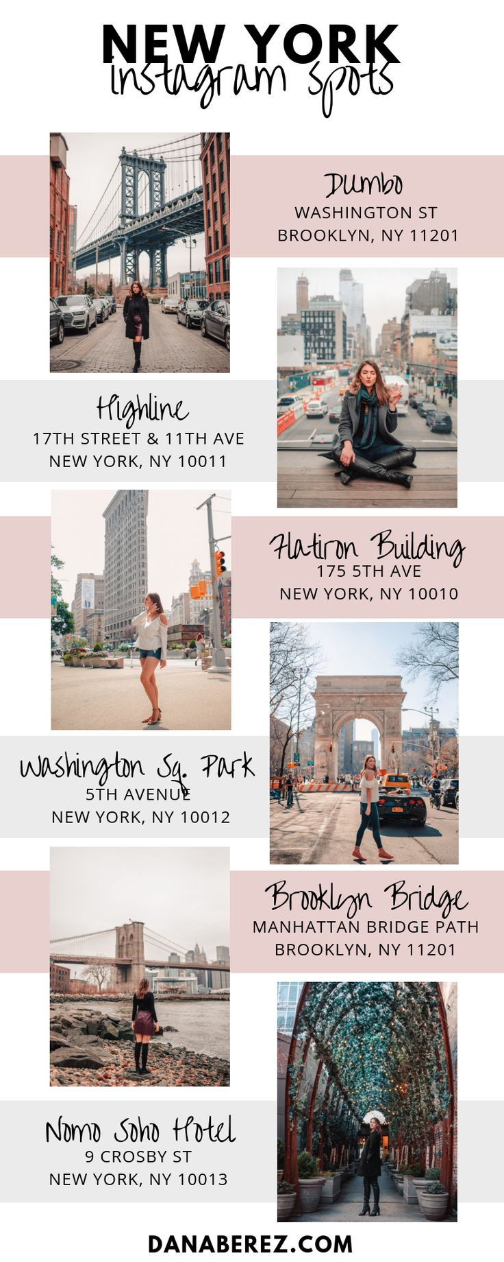 The Best NYC Instagram Spots – Marie