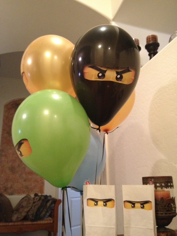 Ninjago Lego party