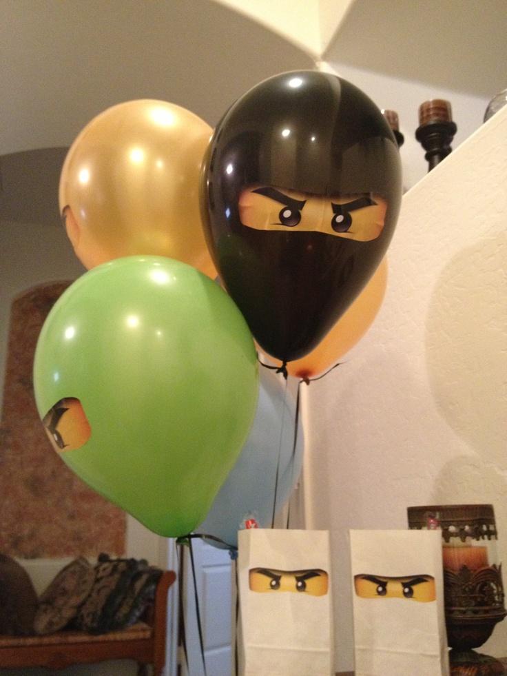 Ninjago Lego party