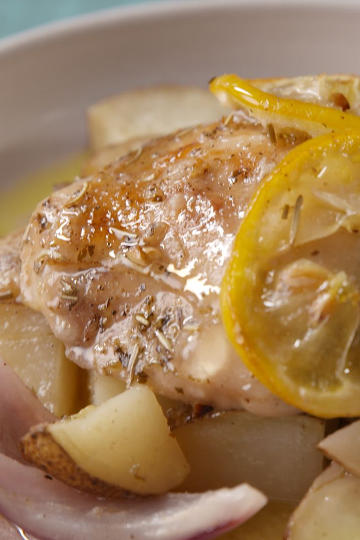 This simple, citrusy chicken dinner is a real winner.