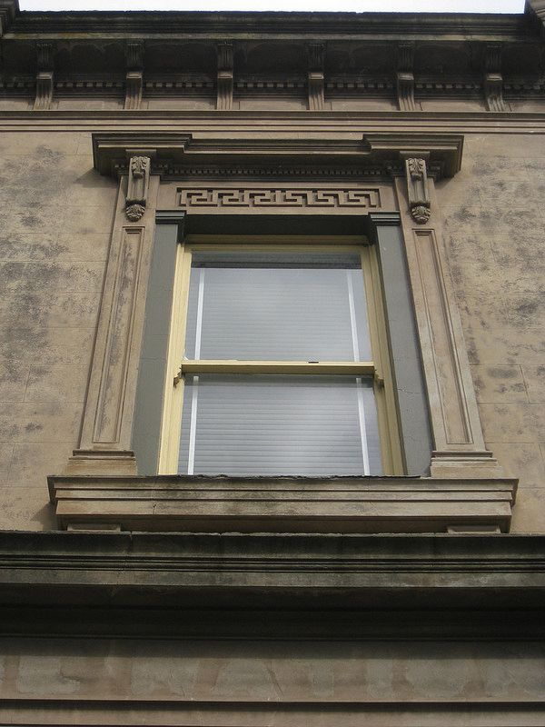Window Detail of the Former National Bank of Australia - Murray Street, Colac