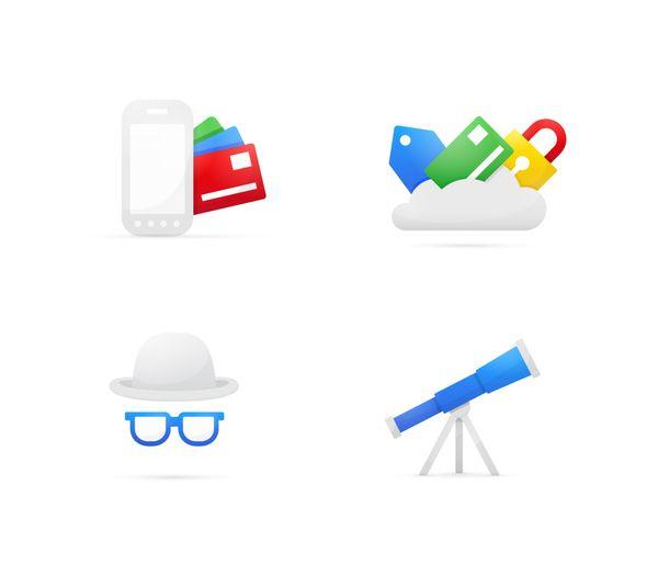 really lovely design.Google Wallet by Elliott Burford, via Behance.