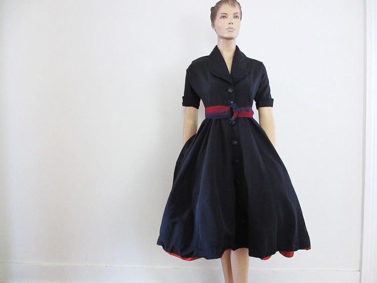 1000+ Images About Vintage Tea Length Dresses On Pinterest