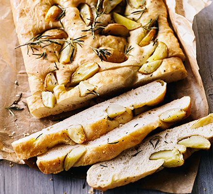 This easy Italian-style loaf is inspired by the classic chip buttie - perfect as an alternative to a dinner party bread basket