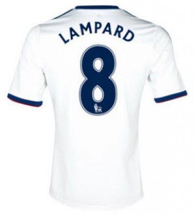 Maillot de Foot Chelsea (8 Lampard) Exterieur Adidas Collection 2013 2014 Blanc Pas Cher http://www.korsel.net/maillot-de-foot-chelsea-8-lampard-exterieur-adidas-collection-2013-2014-blanc-pas-cher-p-1835.html
