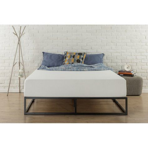 Modern Studio 10 Low Profile Platform Bed Frame Assorted Sizes King Bed Frame Box Bed Frame Platform Bed Frame