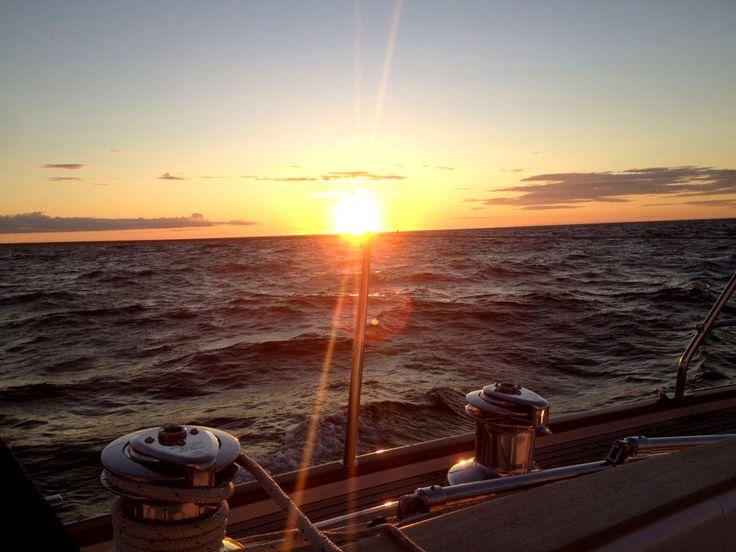 Härlig segling från Strömstad till Lysekil med en Najad 440 CC.