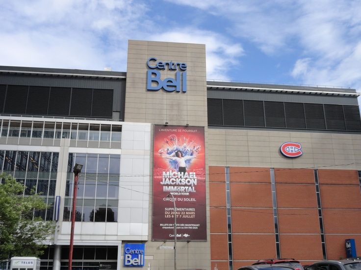 Centre Bell - Bell Centre Montreal.