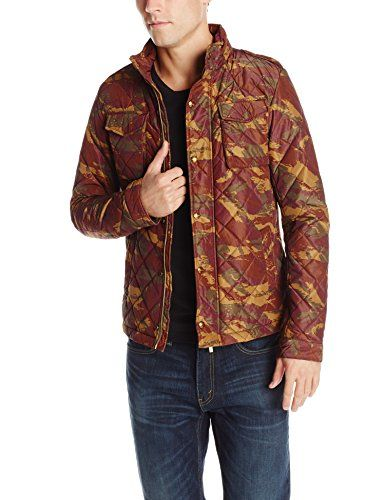 SCOTCH & SODA Scotch & Soda Men'S Lightly Padded And All-Over Quilted Jacket In Oxford Nylon. #scotchsoda #cloth #
