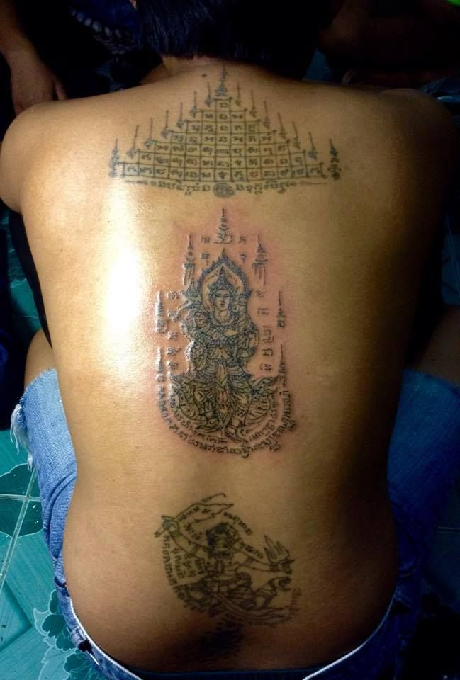 1000 images about sak yant on pinterest bamboo tattoo temple tattoo and khmer tattoo. Black Bedroom Furniture Sets. Home Design Ideas