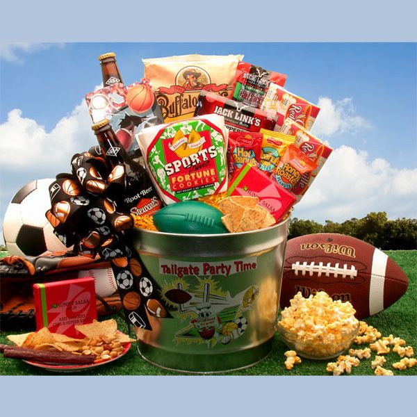 23 best fundraiser basket ideas images on pinterest fundraiser tailgate party time gift pail for students free shipping negle Choice Image