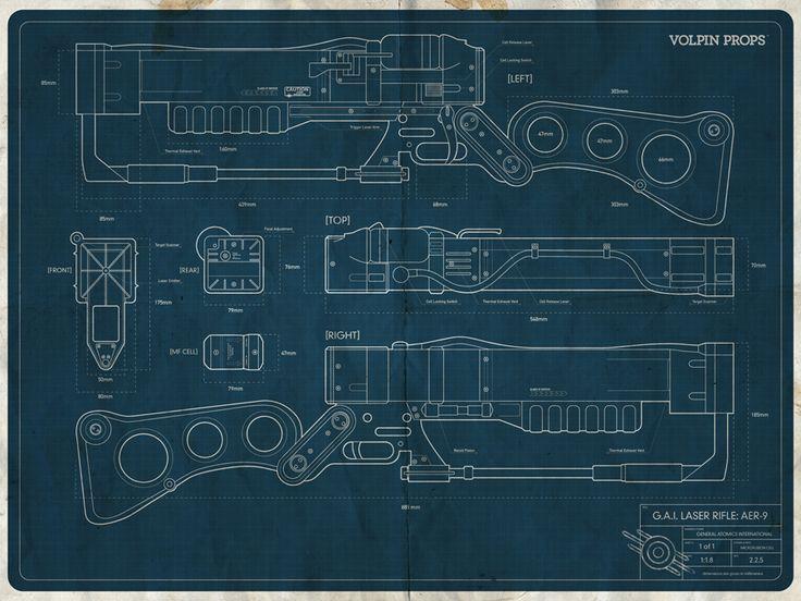 Pin on Ilustración / Dibujo / Diseño Fallout Schematics on