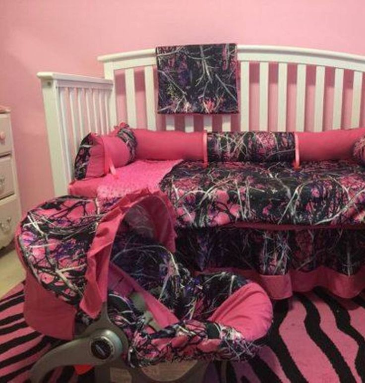 Hot Pink and Camo Baby stuff  Love the crib bedding and car seat cover. Best 25  Camo baby nurseries ideas on Pinterest   Camo nursery