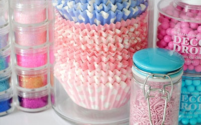 Store Baking Supplies Beautifully