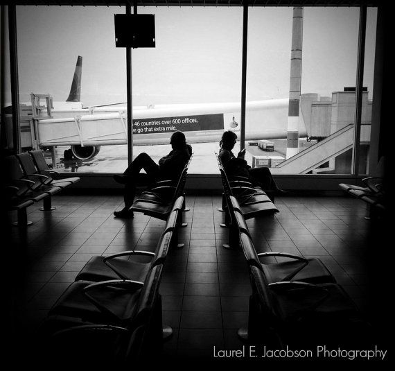 The Last Stop - iPhone photography, Amsterdam, travel, black and white