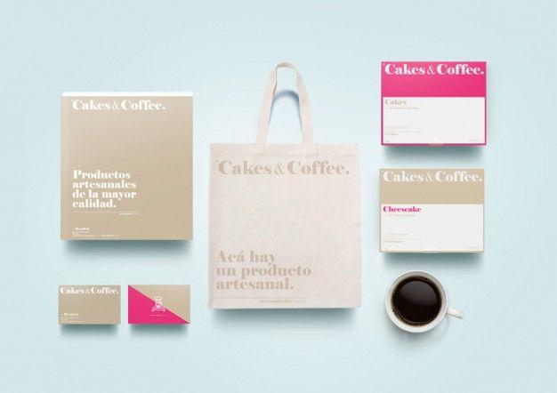 EMPATYCZNIE PROJEKTANCI na FUTU.PL Twórcy identyfikacji wizualnej dla kawiarni Cakes znajdującej się w Buenos Aires doskonale rozumieją, że słodkie znaczy dobre.
