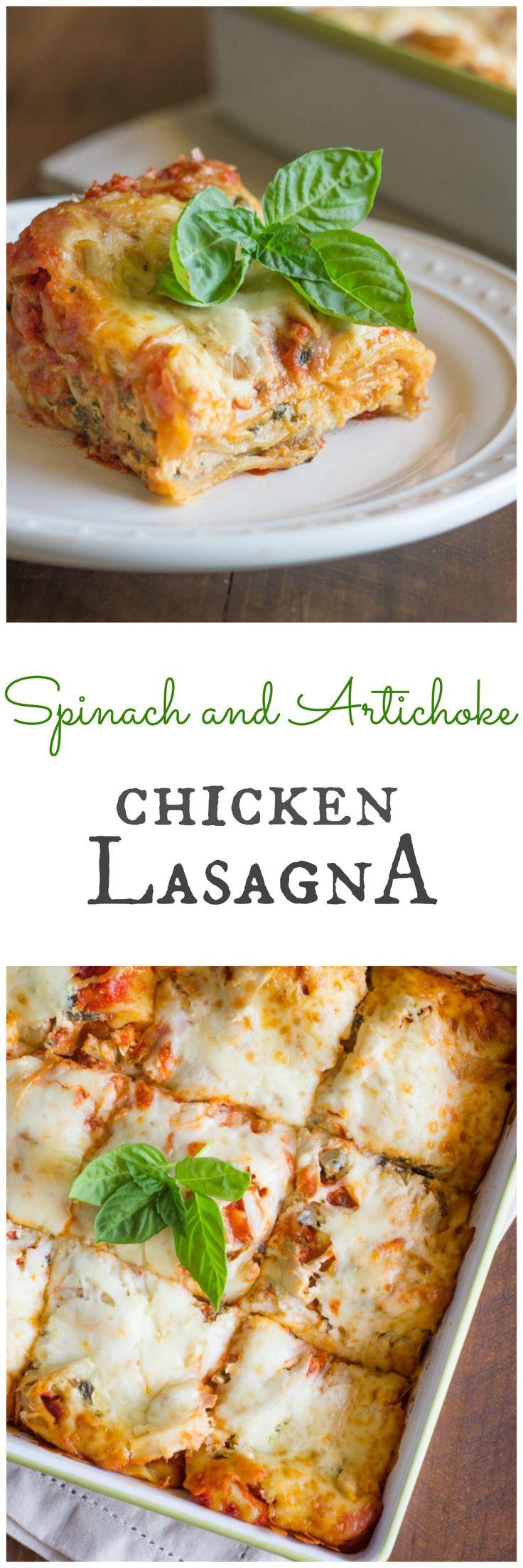 Best 25 chicken artichoke lasagna ideas on pinterest for Spinach chicken lasagna recipe