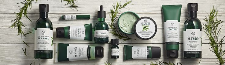 Naturally fighting my acne with Tea Tree from The Body Shop Range