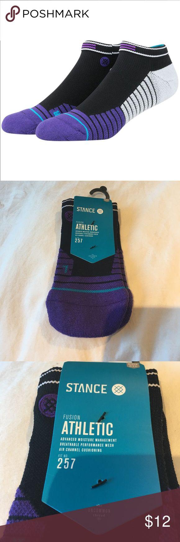 Stance men's athletic socks medium 6-8.5 New stance Fusion Athletic socks . Men's med 6-8.5 fit number 257 Stance Underwear & Socks Athletic Socks