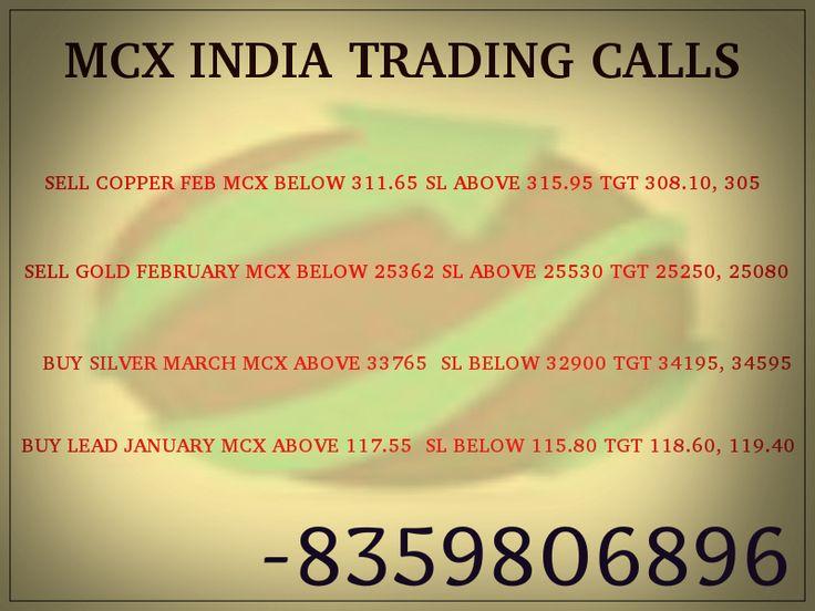 TODAY MCX CALLS TIPS