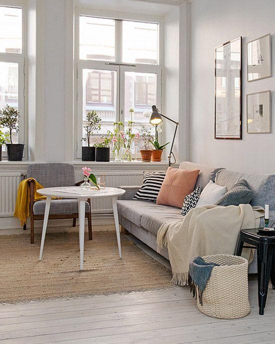 17 beste idee n over klein appartement wonen op pinterest decoratie klein appartement klein - Deco klein appartement ...
