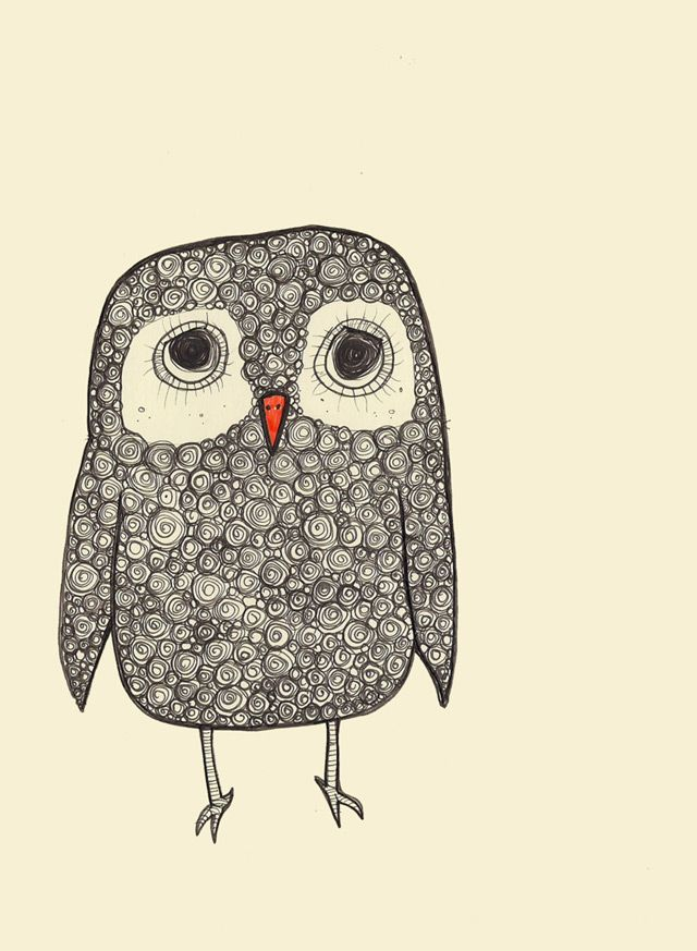 Illustration owl