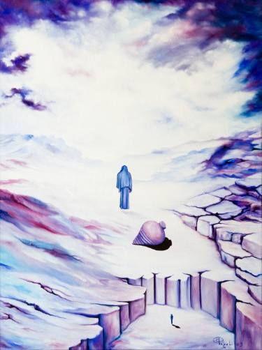 "Saatchi Art Artist Giuseppe Alberto Regoli; Painting, ""Wisdom"" #art"