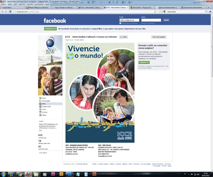 Fã page ICCE