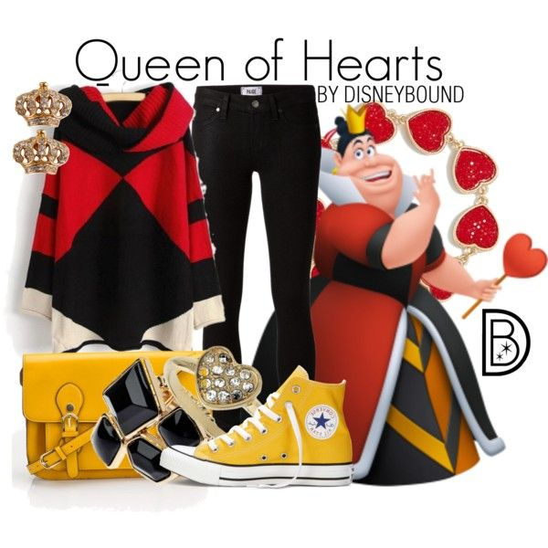 155 best Casual Cosplay images on Pinterest AnimeQueen Of Hearts Disneybound
