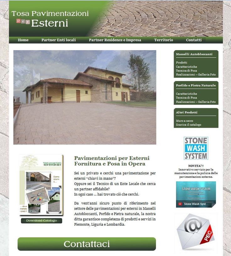 Pavimentazioni per esterni in Masselli Autobloccanti, Porfido e Pietra naturale