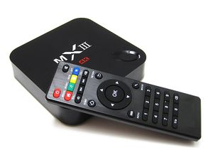Quad Core 2.0GHz MINI PC 4K * 2K MXIII S802 Android 4.4 OTA Miracast DLNA 1G 8G TV Box 2.4G wifi MX III