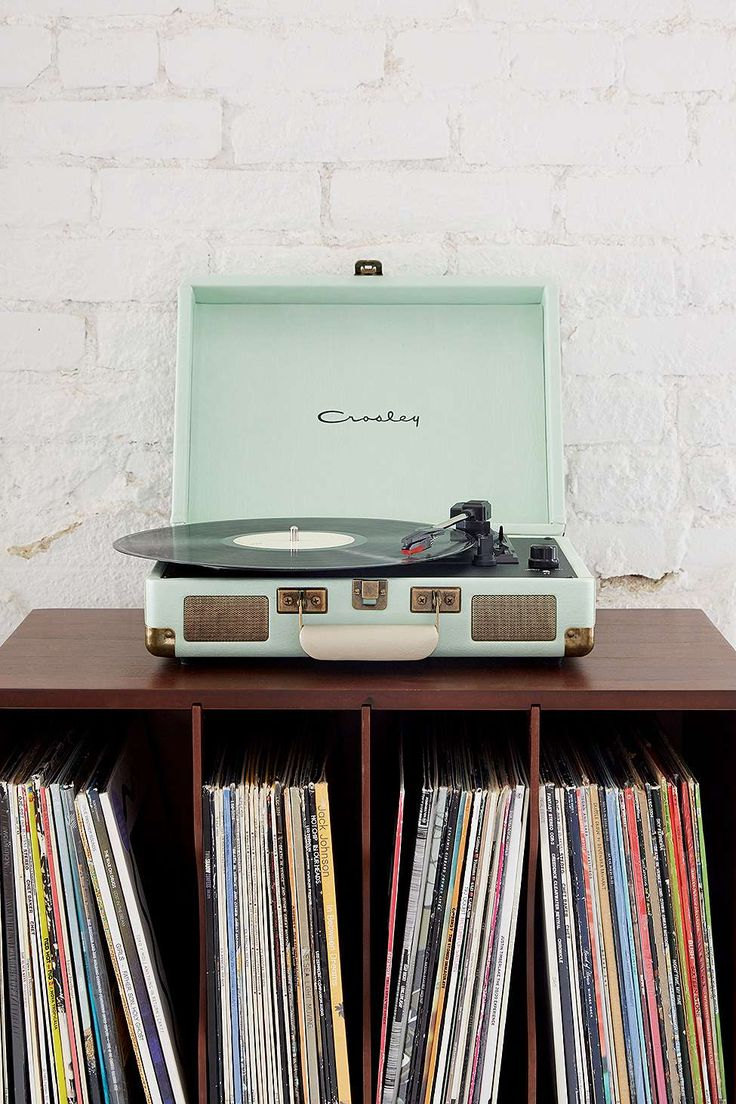 Crosley - Tourne-disque Cruiser vert menthe prise européenne - Urban Outfitters