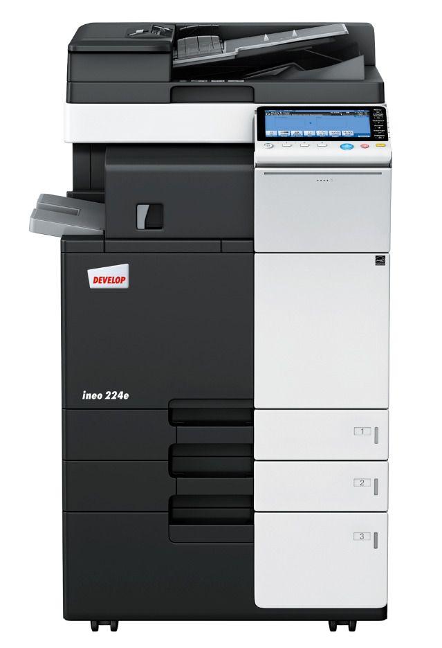 Konica Minolta Bizhub C454e Color Multifunction Printer Konicaminolta