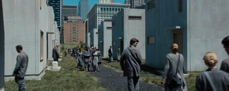 ABNEGATION HOUSES!!!!!! | Divergent Movie Stills and Set ...