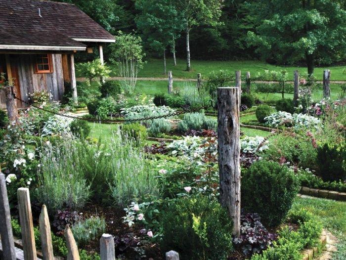 Les 25 meilleures id es de la cat gorie cl tures de la campagne sur pinterest - Idee de genie jardin ...
