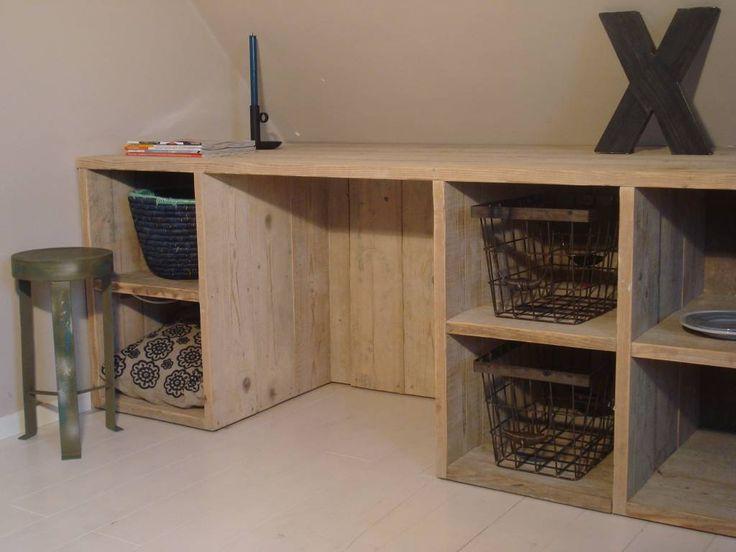 slaapkamer steigerhout wit - Google zoeken