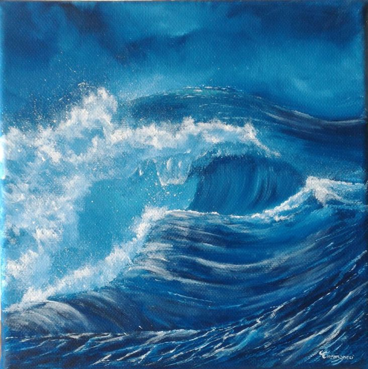 Buy Wave #007, Oil painting by Gianluca Cremonesi on Artfinder. Discover thousands of other original paintings, prints, sculptures and photography from independent artists.