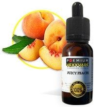 Juicy Peach By VexyVape eLiquid - Premium Steeped eliquid Made in Canada!Looking for a smooth and sweet fruity flavour to vape? Try out VexyVape''s Juicy Peach eliquid, this flavour is sure to leave your mouth watering!*NEW* Now Available in VG 70%from Canada, same as US Rates.