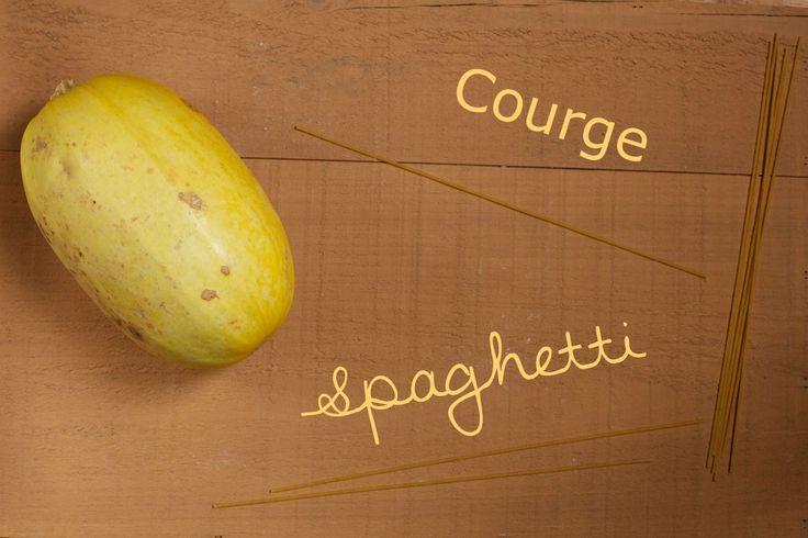 Les 25 meilleures id es de la cat gorie courge spaghetti - Comment cuisiner une courgette spaghetti ...