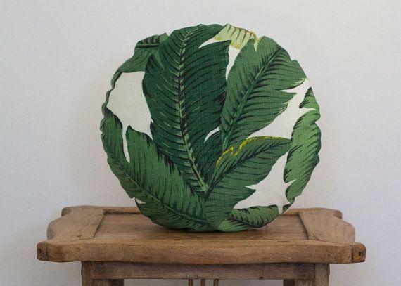 Tommy Bahama se balançant palm print Coussin par HelloLovelyAU