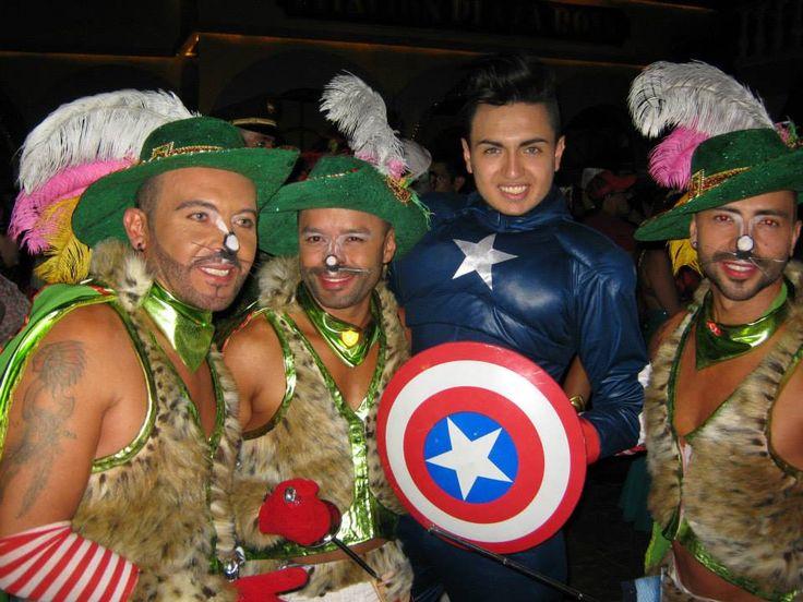 Uno para todos y todos para el capitán américa.