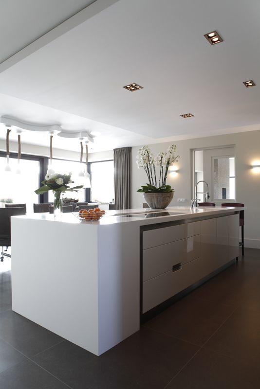 17 beste afbeeldingen over keuken op pinterest kasten moderne keukens en eilanden - Onderwerp deco design keuken ...