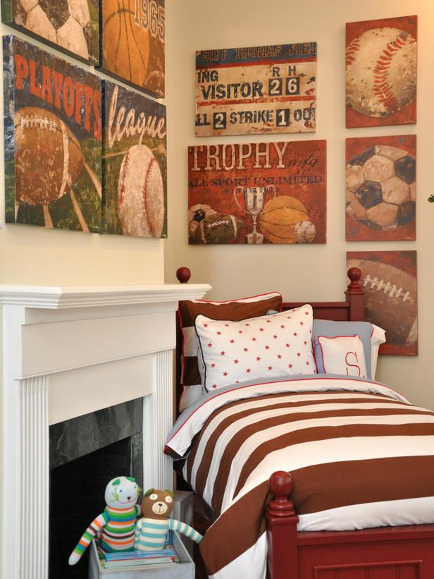 When it comes to decorating walls there is nothing wrong - Comely pictures of basketball themed bedroom decoration ideas ...